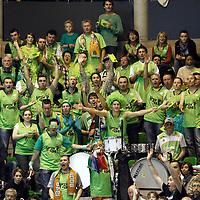 BASKETBALL - FRENCH CHAMPIONSHIP PRO A 2011-2012 - VILLEURBANNE (FRA) - 06/11/2011 - PHOTO : CHRISTOPHE ELISE - ASVEL LYON VILLEURBANNE v NANCY - FANS (ASVEL)
