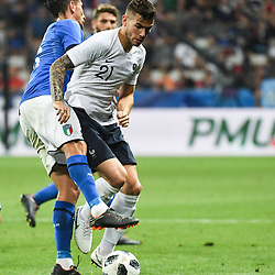 Lucas Hernandez of France during the International Friendly match between France and Italy at Allianz Riviera Stadium on June 1, 2018 in Nice, France. (Photo by Anthony Dibon/Icon Sport)