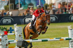 Mathy Laura, BEL, Penta<br /> European Championship Children, Juniors, Young Riders - Fontainebleau 1028<br /> © Hippo Foto - Dirk Caremans<br /> Mathy Laura, BEL, Penta