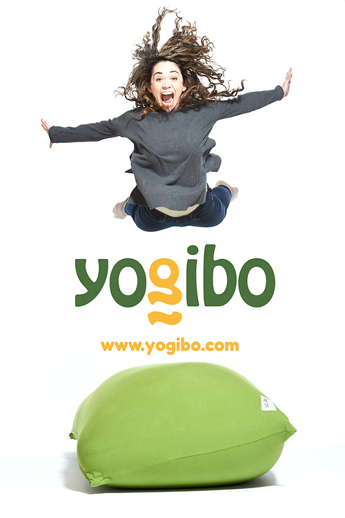 Yogibo - family fun furniture advertisement