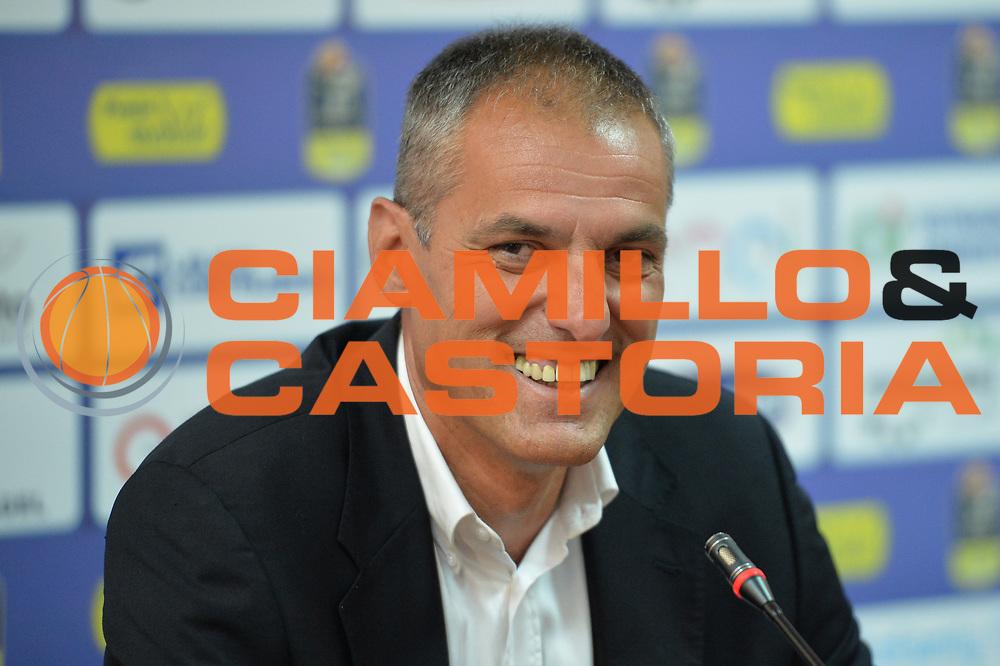 Dell'Agnello Sandro<br /> Enel Brindisi Presentazione Dell'Agnello Sandro<br /> Legabasket A 2017/2018<br /> Brindisi 03/07/2017<br /> Foto Ciamillo-Castoria/M.Longo