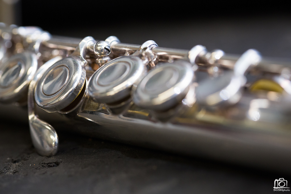 A detail of a clarinet at Allegro Music in Fremont, California, on April 16, 2014. (Stan Olszewski/SOSKIphoto)