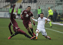 January 6, 2018 - Turin, Italy - Simone Verdi (#9) of Bologna during Serie A match between Torino v Bologna, in Turin, on January 6, 2018  (Credit Image: © Loris Roselli/NurPhoto via ZUMA Press)