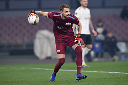 February 21, 2019 - Naples, Naples, Italy - Yanick Brecher of FC Zurich during the UEFA Europa League Round of 32 Second Leg match between SSC Napoli and FC Zurich at Stadio San Paolo Naples Italy on 21 February 2019. (Credit Image: © Franco Romano/NurPhoto via ZUMA Press)