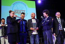 RAOUL CREMONA<br /> SPETTACOLO UN ANGELO DI NOME GIULIA 2015<br /> FERRARA 20-03-2015<br /> FOTO FILIPPO RUBIN