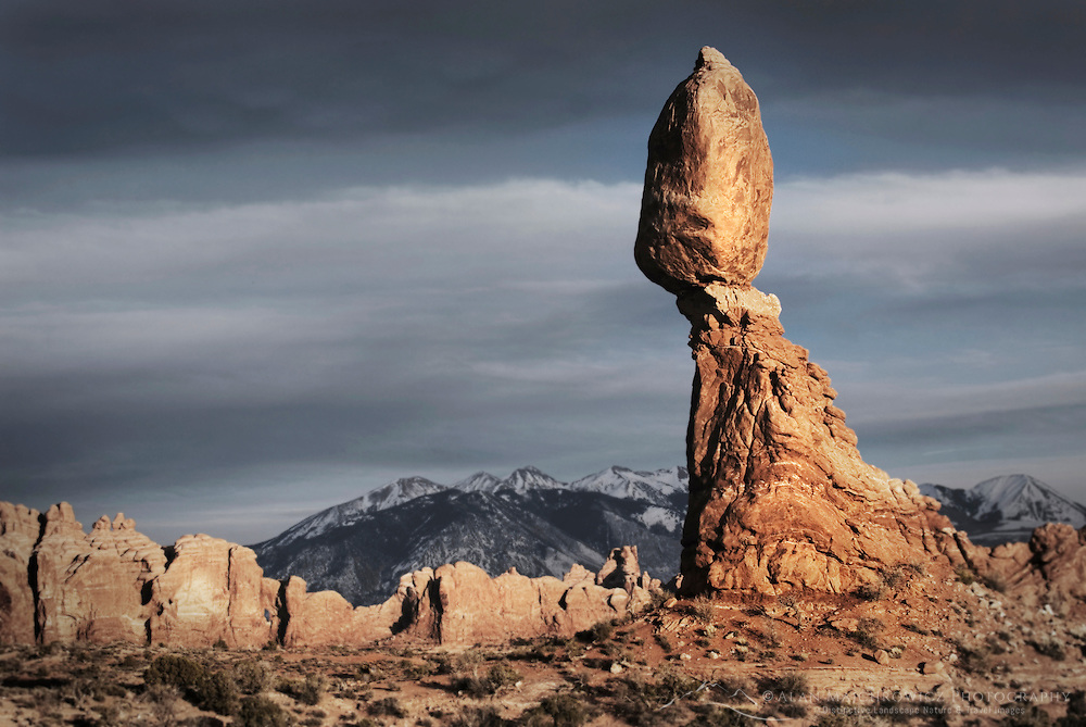 Balanced Rock, Arches National Park Utah