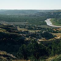 Little Missouri River Overlook. 1 of 4