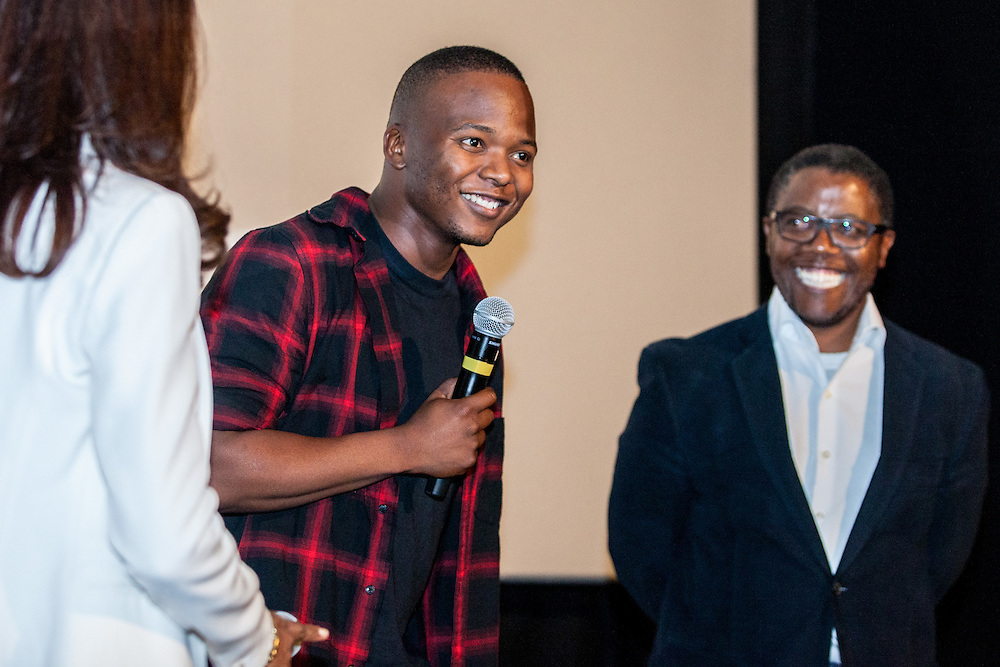 Opening Gala - Kalushi: The Story of Solomon Mahlangu during The Royal African Society's Annual Film Festival 2016. Followed by a Q&A with director Mandlanksyise Walter Dube and actor Thabo Rametsi. London, Friday 28 October 2016. (Photos/Ivan Gonzalez)