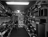 1970 - Interior of Hi-Fi Stereo store, 108 St. Stephens Green, Dublin