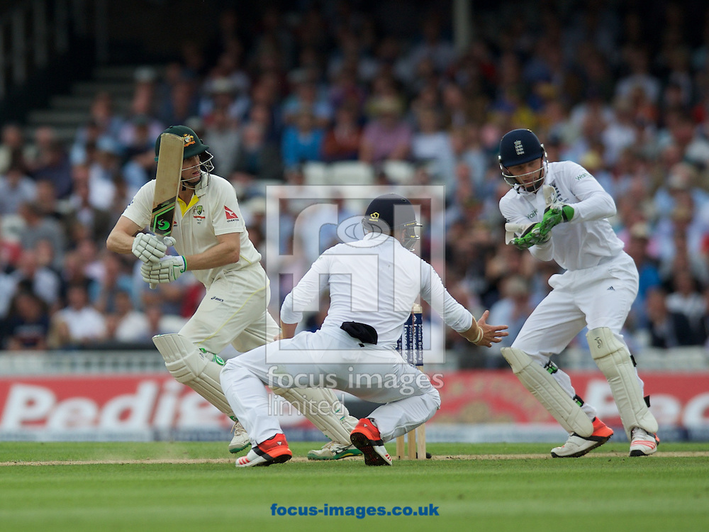 Steven Smith of Australia hits a four during the 5th Investec Ashes Test Match match at the Kia Oval, London<br /> Picture by Alan Stanford/Focus Images Ltd +44 7915 056117<br /> 20/08/2015