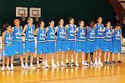 DESCRIZIONE : Pomezia Nazionale Italia Donne Torneo Citt&agrave; di Pomezia Italia Olanda<br /> GIOCATORE : la squadra the team<br /> CATEGORIA : prima della partita inno foto di squadra<br /> SQUADRA : Italia Nazionale Donne Femminile<br /> EVENTO : Torneo Citt&agrave; di Pomezia<br /> GARA : Italia Olanda<br /> DATA : 26/05/2012 <br /> SPORT : Pallacanestro<br /> AUTORE : Agenzia Ciamillo-Castoria/ElioCastoria<br /> Galleria : FIP Nazionali 2012<br /> Fotonotizia : Pomezia Nazionale Italia Donne Torneo Citt&agrave; di Pomezia Italia Olanda<br /> Predefinita :