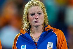 27-08-2004 GRE: Olympic Games day 14, Athens<br /> Hockey finale vrouwen Nederland - Duitsland 1-2 / Miek van Geenhuizen