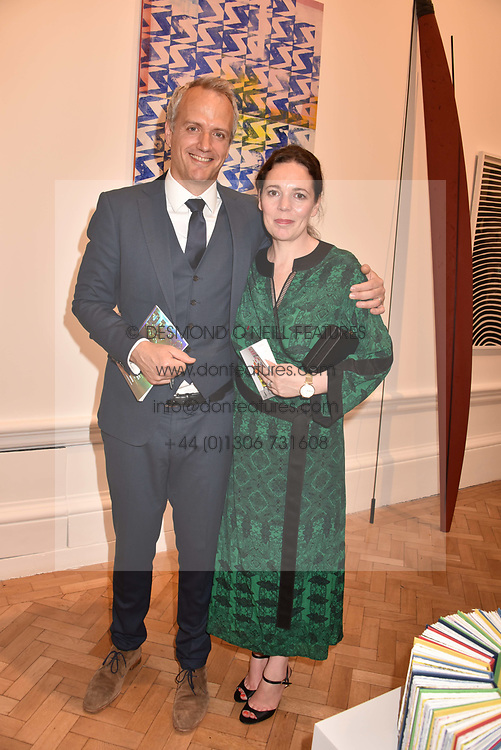 Olivia Colman and Ed Sinclair at the Royal Academy Of Arts Summer Exhibition Preview Party 2018 held at The Royal Academy, Burlington House, Piccadilly, London, England. 06 June 2018.