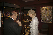 Peter Schaffer and Princess Alexandra, The opening  day of the Grosvenor House Art and Antiques Fair.  Grosvenor House. Park Lane. London. 14 June 2006. ONE TIME USE ONLY - DO NOT ARCHIVE  © Copyright Photograph by Dafydd Jones 66 Stockwell Park Rd. London SW9 0DA Tel 020 7733 0108 www.dafjones.com