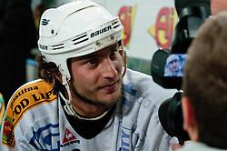 Gregor Poloncic during ice-hockey friendly match between legends of HDD Tilia Olimpija and HK Acroni Jesenice, on April 14, 2012 at SRC Stozice, Ljubljana, Slovenia. (Photo By Matic Klansek Velej / Sportida.com)