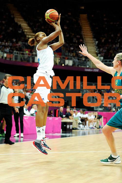 DESCRIZIONE : France Basket Jeux Olympiques Londres <br /> GIOCATORE : Gruda Sandrine FRA<br /> SQUADRA : France Femme<br /> EVENTO : FRANCE Basket Jeux Olympiques<br /> GARA : FRANCE AUSTRALIE<br /> DATA : 30 07 2012<br /> CATEGORIA : Basketball Jeux Olympiques<br /> SPORT : Basketball<br /> AUTORE : JF Molliere <br /> Galleria : France JEUX OLYMPIQUES 2012 Action<br /> Fotonotizia : France Basket Femme Jeux Olympiques Londres premier tour France A<br /> Predefinita :