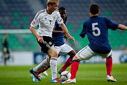 Julian Brandt of Germany during the UEFA European Under-17 Championship Group A match between Germany and France on May 10, 2012 in SRC Stozice, Ljubljana, Slovenia. (Photo by Matic Klansek Velej / Sportida.com)