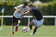 Hawke's Bay United Karan Mandaie makes a break in the Handa Premiership football match, Hawke's Bay v Wellington, Bluewater Stadium, Napier, Sunday, February 03, 2019. Copyright photo: Kerry Marshall / www.photosport.nz