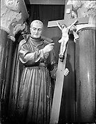 Passionist Fathers, Statues of St. Paul of the Cross & St. Patrick Mosaic, Mount Argus..21.04.1961