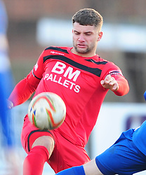 MICHAEL RICHENS  KETTERING  TOWN, Kettering Town v Stratford Town Evo Stik Southern League Latimer Park, Saturday 9th December 2017. Score 2-0