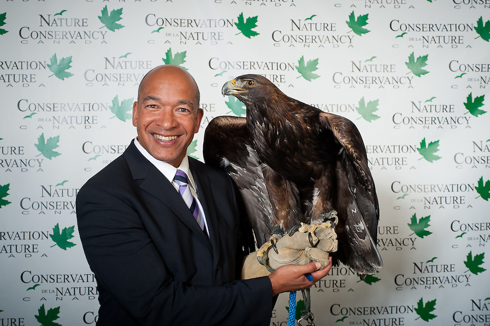 Portrait photography at the Nature Conservancy of Canada 50th Anniversary Gala, Calgary, Alberta