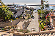 Ocean View From Fernleaf Avenue Corona Del Mar California