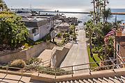 Ocean View From Fernleaf Avenue Corona Del Mar California