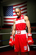 6/24/11 2:50:27 PM -- Colorado Springs, CO. -- A portrait of U.S. Olympic lightweight boxer Queen Underwood, 27, of Seattle, Wash. who will be competing for her fifth title. She began boxing in 2003 and was the 2009 Continental Champion and the 2010 USA Boxing National Champion. She is considered a likely favorite to medal at the 2012 Summer Olympics in London as women's boxing makes its debut as an Olympic sport. -- ...Photo by Marc Piscotty, Freelance.