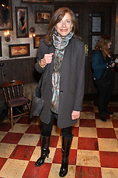 BELINDA LANG at a gala performance of 'Once The Musical' in aid of Oxfam held at the Phoenix Theatre, 110 Charing Cross Road, London on 17th March 2014.