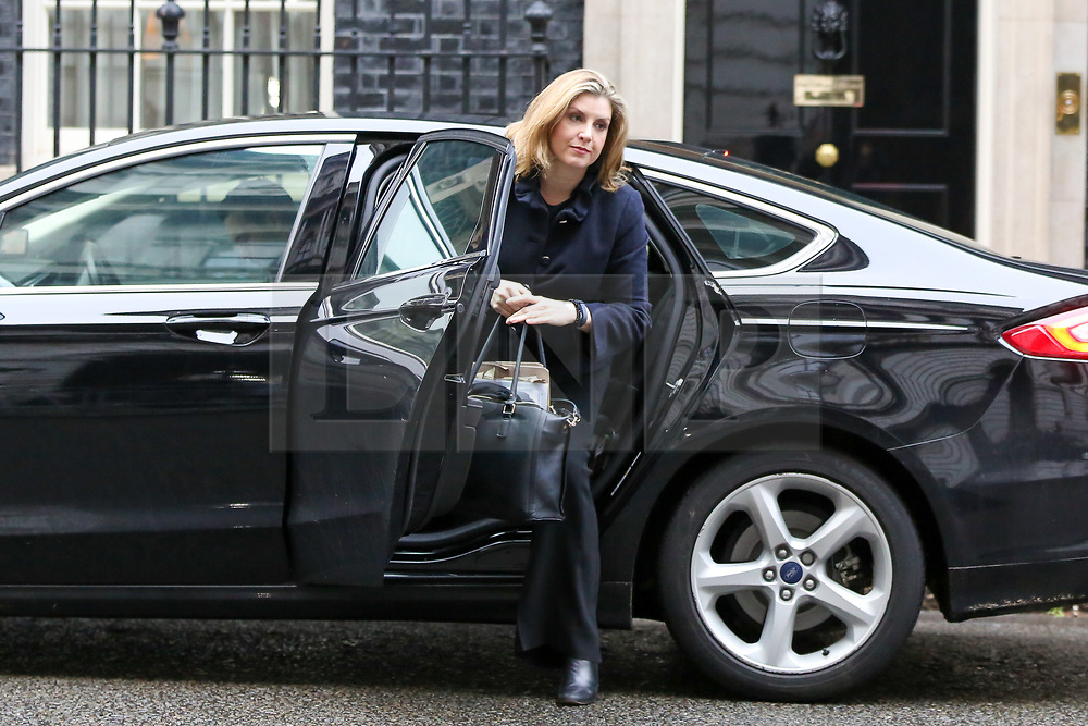 © Licensed to London News Pictures. 05/02/2019, London, UK. Penny Mordaunt - Secretary of State for International Development and Equalities Minister arrives in Downing Street for the weekly Cabinet meeting. Photo credit: Dinendra Haria/LNP