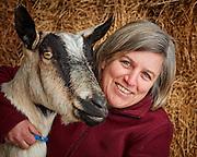 Farm mom, 4H leader, volunteer, dairy goat enthusiast, farm life portrait photography