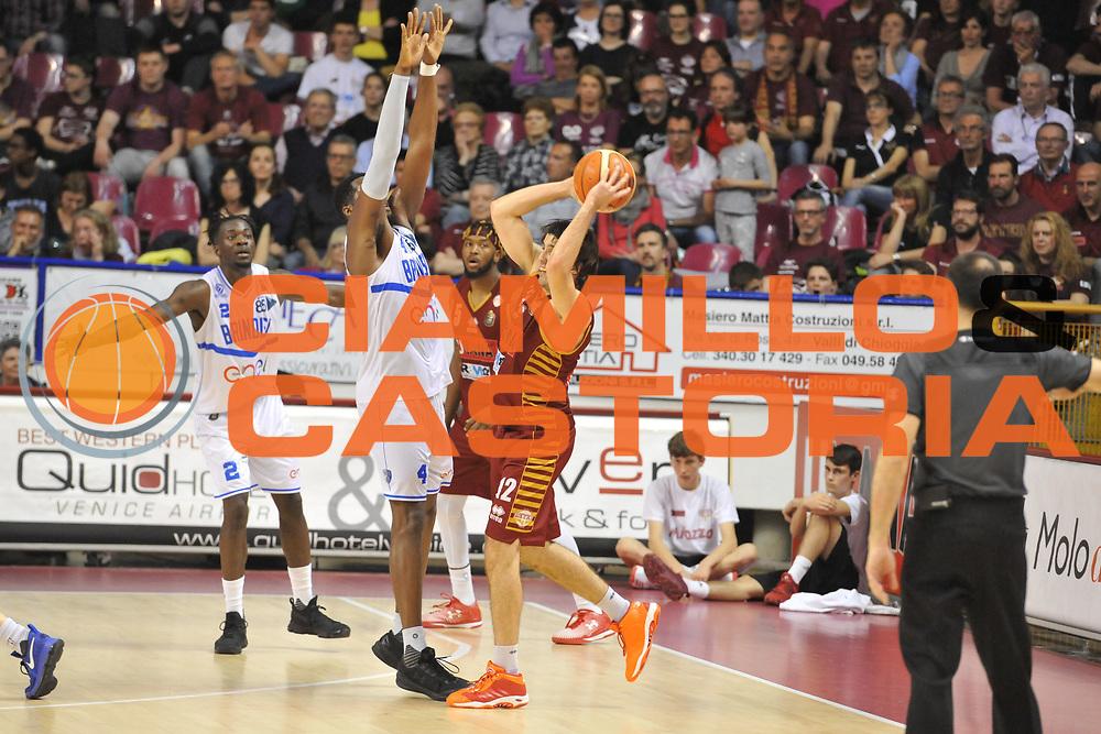 Ariel Filloy<br /> Umana Reyer Venezia - Enel Brindisi <br /> Lega Basket Serie A 2016/2017<br /> Venezia 07/05/2017<br /> Foto Ciamillo