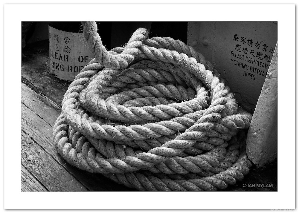 Ship's Rope on the Star Ferry