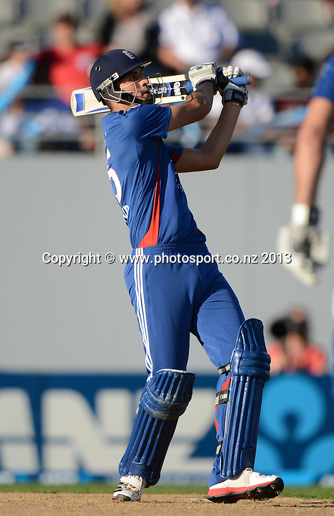 England batsman Alex Hales. ANZ T20 Series. 1st Twenty20 Cricket International. New Zealand Black Caps versus England at Eden Park, Auckland, New Zealand. Saturday 9 February 2013. Photo: Andrew Cornaga/Photosport.co.nz