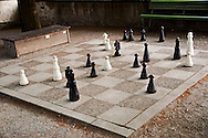 Checkmate, Chess in the Park, Zurich Switzerland