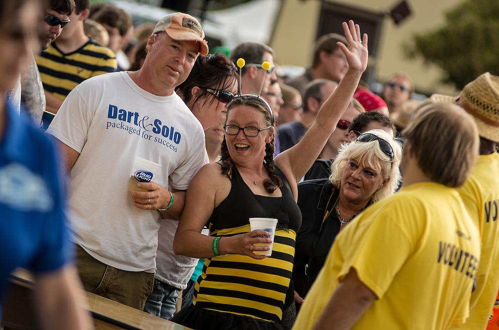 Blind Melon performs at Decatur Celebration, Decatur, Illinois, August 4, 2013. Photo: George Strohl