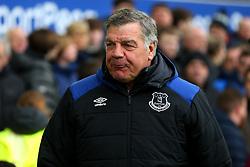 Everton manager Sam Allardyce - Mandatory by-line: Robbie Stephenson/JMP - 31/03/2018 - FOOTBALL - Goodison Park - Liverpool, England - Everton v Manchester City - Premier League