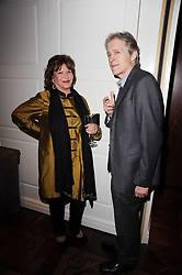 LADY ASHCOMBE and JONATHAN HOPE at a party following the premier of Boogie Woogie held at The Westbury Hotel, Conduit Street, London on 13th April 2010.