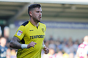 Burton Albion midfielder Michael Kightly (28) during the EFL Sky Bet Championship match between Burton Albion and Aston Villa at the Pirelli Stadium, Burton upon Trent, England on 8 April 2017. Photo by Richard Holmes.