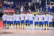 DESCRIZIONE : Berlino Eurobasket 2015 Islanda Italia<br /> GIOCATORE : nazionale Italia<br /> CATEGORIA : pre game pregame panoramica<br /> SQUADRA : Italia<br /> EVENTO : Eurobasket 2015<br /> GARA : Islanda Italia<br /> DATA : 06/09/2015<br /> SPORT : Pallacanestro<br /> AUTORE : Agenzia Ciamillo&shy;Castoria/M.Longo<br /> Galleria : Eurobasket 2015<br /> Fotonotizia : Berlino Eurobasket 2015 Islanda Italia