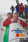 A media presentation was made at the Whistler Sliding Centre as VANOC celebrates the end of construction of all Whistler Olympic and Paralympic competition venues on Friday, December 14.