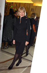 Actress HELEN MIRREN at 'A Night at Crumbland' an evening to celebrate the launch of the Stella McCartnry and Robert Crumb collaboration aand the publication of the R.Crumb handbook, held at Stella McCartney, 30 Bruton Street, London W1 on 17th March 2005.<br /><br />NON EXCLUSIVE - WORLD RIGHTS