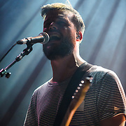 WASHINGTON, DC - February 22nd, 2014 - White Lies performs at the 9:30 Club in Washington, D.C. (Photo by Kyle Gustafson/www.kylegustafson.com)