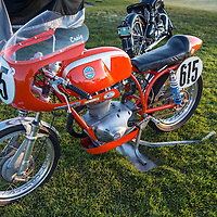 1968 Benelli 4T, pre-show, in the early morning light, at the 2012 Santa Fe Concorso.