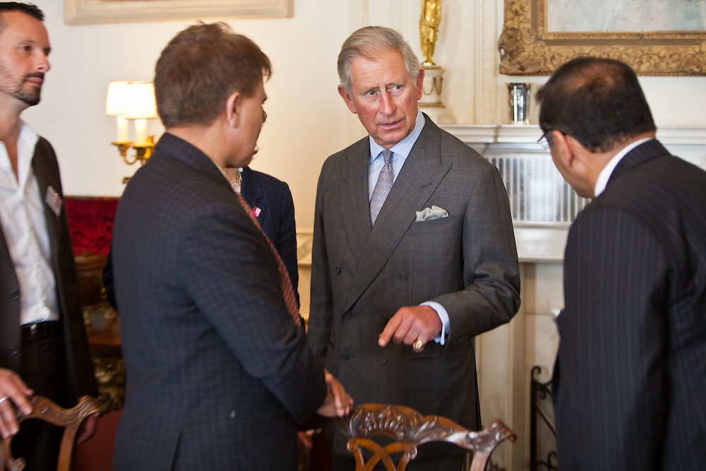 HRH The Prince of Wales meets representatives from Aga Khan Planning and Building Services, Pakistan