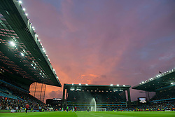 A general view of Villa Park as Aston Villa play against Manchester United in the Barclays Premier League - Mandatory byline: Dougie Allward/JMP - 07966386802 - 14/08/2015 - FOOTBALL - Villa Park -Birmingham,England - Aston Villa v Manchester United - Barclays Premier League
