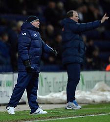 Yeovil Town Manager, Gary Johnson reacts - Photo mandatory by-line: Richard Martin-Roberts - Mobile: 07966 386802 - 20/01/2015 - SPORT - Football - Preston - Deepdale Stadium - Preston North End v Yeovil Town - Sky Bet League One