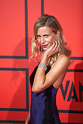 Maria Leon during the photocall of Vanity Fair 5th Anniversary party In Madrid