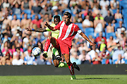 Daniel Carriço of Sevilla during the Pre-Season Friendly match between Brighton and Hove Albion and Sevilla at the American Express Community Stadium, Brighton and Hove, England on 2 August 2015.