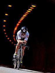 28.08.2016, Zell am See Kaprun, AUT, IRONMAN 70.3 Salzburg, im Bild Manuel Kueng (SUI) // Manuel Kueng (SUI) during IRONMAN 70.3, Salzburg at Zell am See- Kaprun, Austria on 2016/08/28. EXPA Pictures © 2016, PhotoCredit: EXPA/ JFK